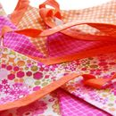 Cotton Fabric Bunting 'Tropical Dream'