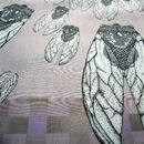 Conspiresy Of Flies Square Silk Scarf