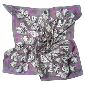 Butterfly Wings Alae Square Silk Scarf