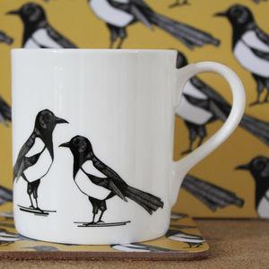 Mischievous Magpie Mug