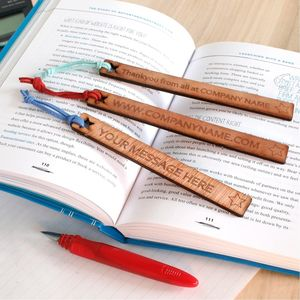 Personalised Bookmark Corporate Gift
