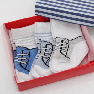 Boys Three Pack Football Sock Set