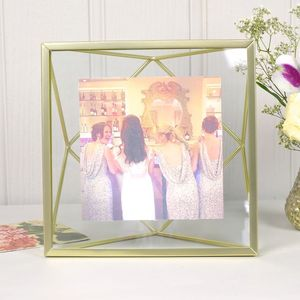 'Prisma' Geometric Square Photo Frame - styling your day