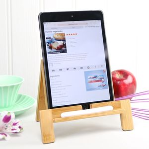 Old School Tablet Stand With Stylus - home