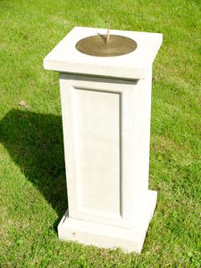 Tudor Sundial Plinth - art & decorations
