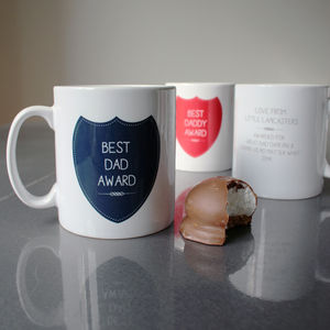 Custom Award Mug For Dad - mugs