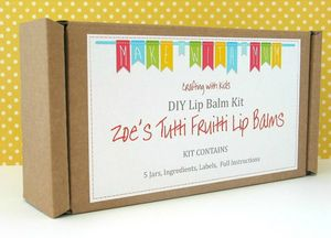 Lip Balm Making Craft Kit For Children
