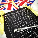 Royal Baby Predictions Board