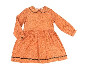 Goldilocks Dress In Coral Pink