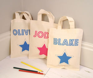 Personalised Party Bag With Optional Age - bags, purses & wallets