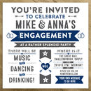 Wedding / Engagement / Birthday Party Invitations