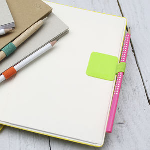 Adhesive Pen Loop For Notebooks And Notepads