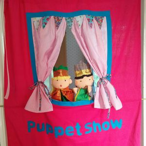 Puppet Theatre Can Be Personalised - personalised