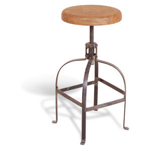 Industrial Vintage Dentist Stool