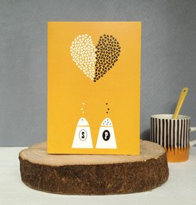 ' Shake It Up ' Anniversary And Valentines Card - wedding cards