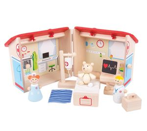 Mini Hospital Playset - outdoor toys & games