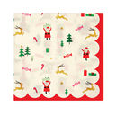 Christmas 'Be Jolly' Small Paper Napkins