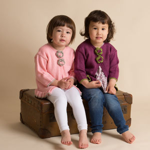 Hand Knitted Cardigans For Girls - summer sale