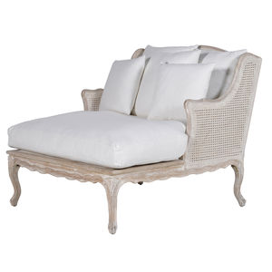 Rattan Back Lounge Chair