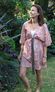 Blushing Lizard Kaftan Overcoat - women's sale