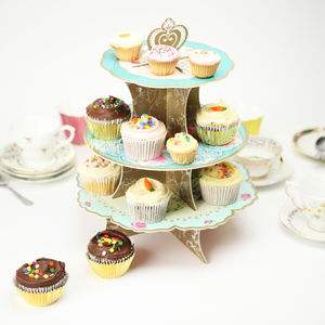 Vintage Reversible Cake Stand - cake stands