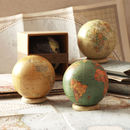 Small World Globe On Ring Stand