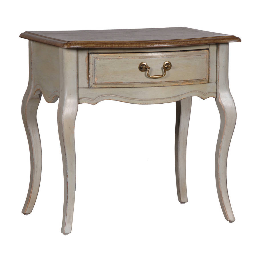 vintage look french bedside table by out there interiors vintage bedside tables set of 2 for sale at pamono