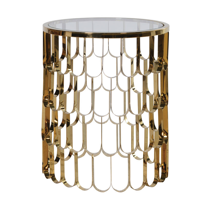gillmore metal fusion buy white contemporary living table space tables and image marble circular from gold side