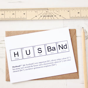 Wife Or Husband Funny Valentines Card - sentimental cards