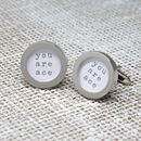 'You Are Ace' Cufflinks
