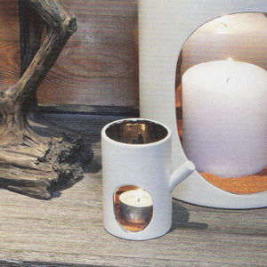Trunk Handmade Porcelain Tealight Holder - votives & tea light holders