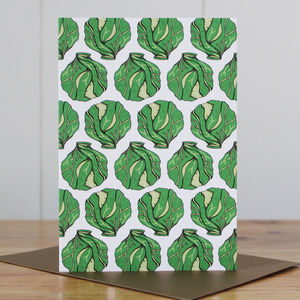 Sprout Christmas Card - cards & wrap