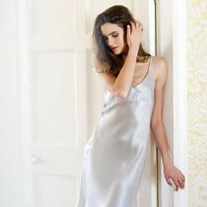 Silk Satin Slip Dress - bridal lingerie