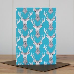 Stag Do! Christmas Card - christmas cards: packs