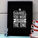 Personalised Love Quote Art Print