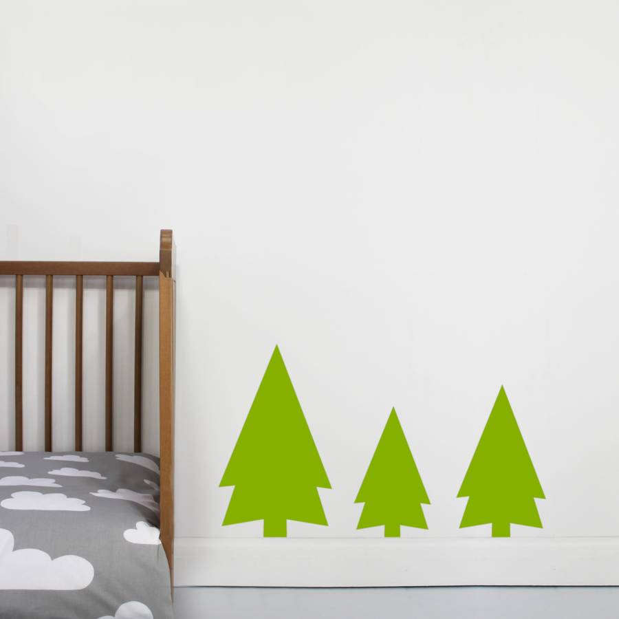 forest tree wall sticker by little chip. Black Bedroom Furniture Sets. Home Design Ideas