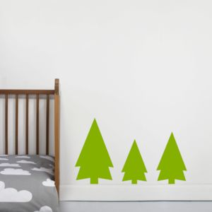 Forest Tree Wall Sticker - children's room