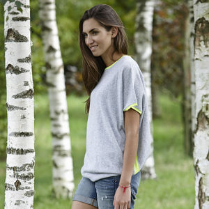 Cashmere Neon Jumper - fashion