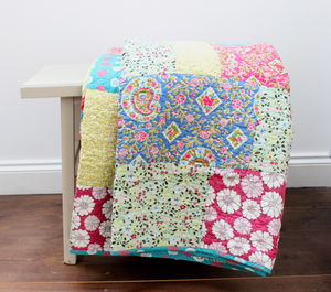 Japanese Patchwork Quilt - children's room