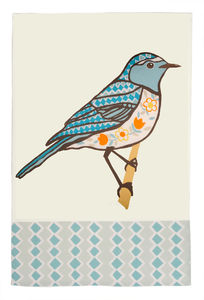 Decorative Bird Teatowel - kitchen