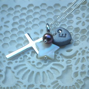 Star Christening Necklace - children's accessories