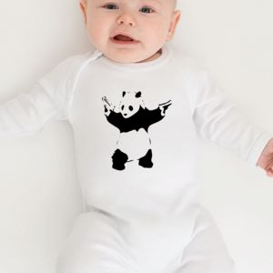 Banksy Babygrow - clothing
