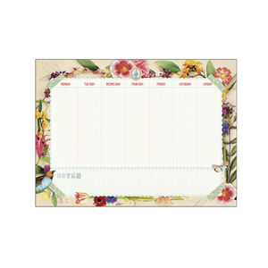 Brand New Flowerland Desk Planner Pip Studio - view all sale items