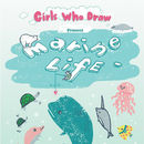Girls Who Draw Limited Edition Postcard Book