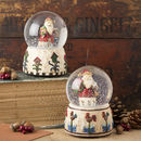 Musical Santa Christmas Snow Globe