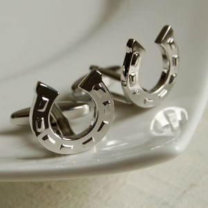 Horseshoe Cufflinks - men's accessories