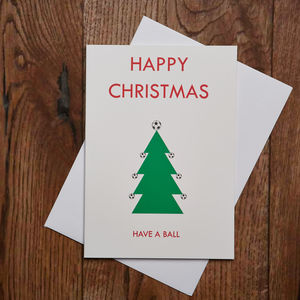 Have A Ball Christmas Card