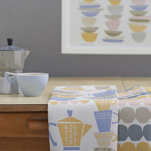 Kitchen Shelves Tea Towel