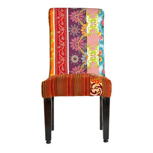 Patchwork Dining Chair - furniture