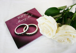 Personalised Proposal CD - cards & wrap